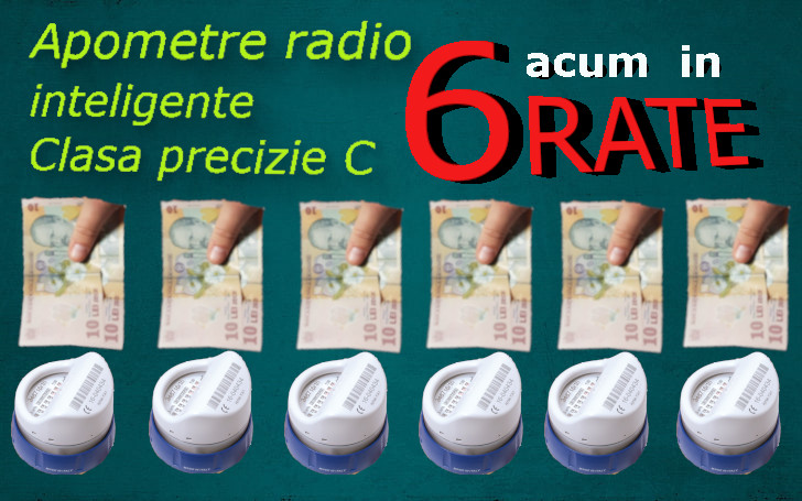 NOU 2021- APOMETRE INTELIGENTE IN 6 RATE – Castiga si tu!!!